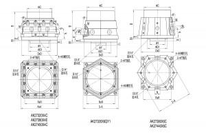 AK27斜8°(其他)系列数控转塔刀架