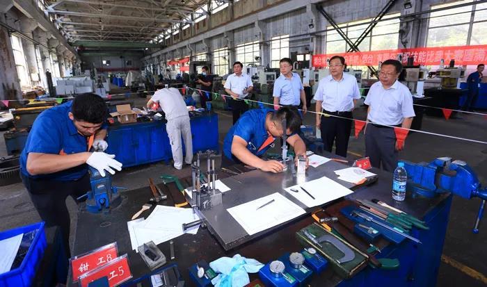福山区总工会第二届机械系统职工技能比武第一阶段工作圆满结束